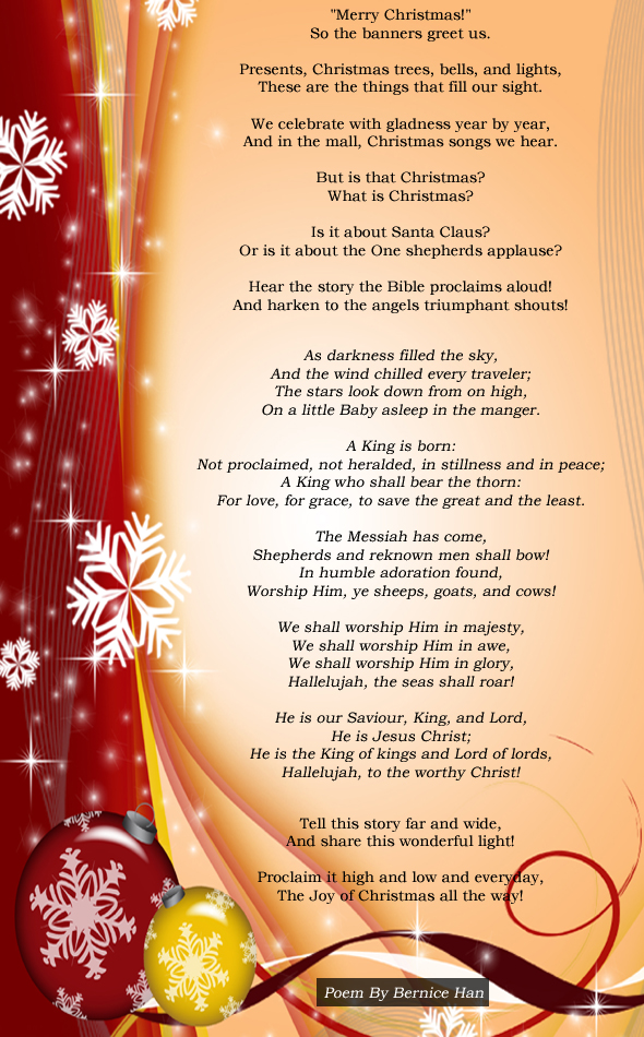 poem: what is christmas?