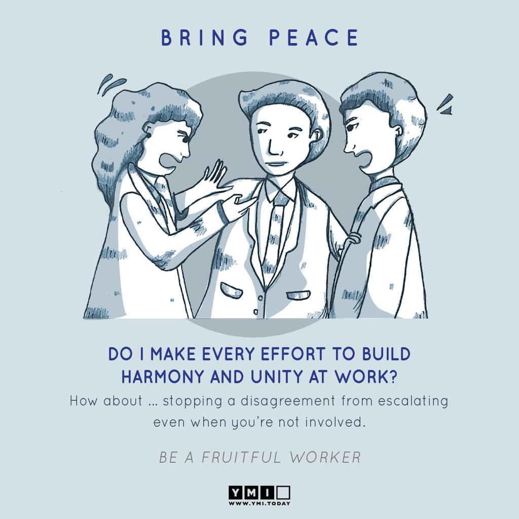 3 BRING PEACE