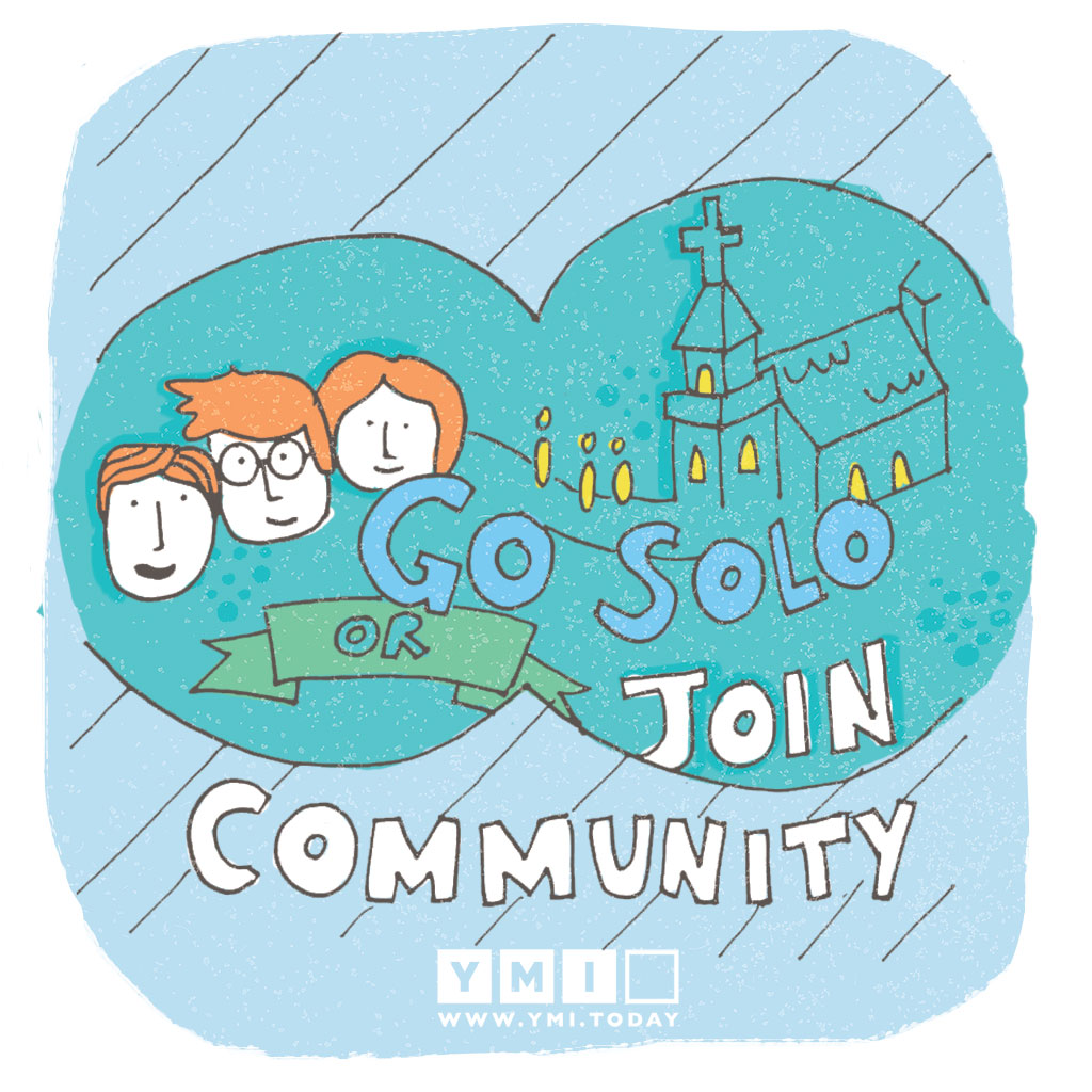 Go-solo-or-join-community